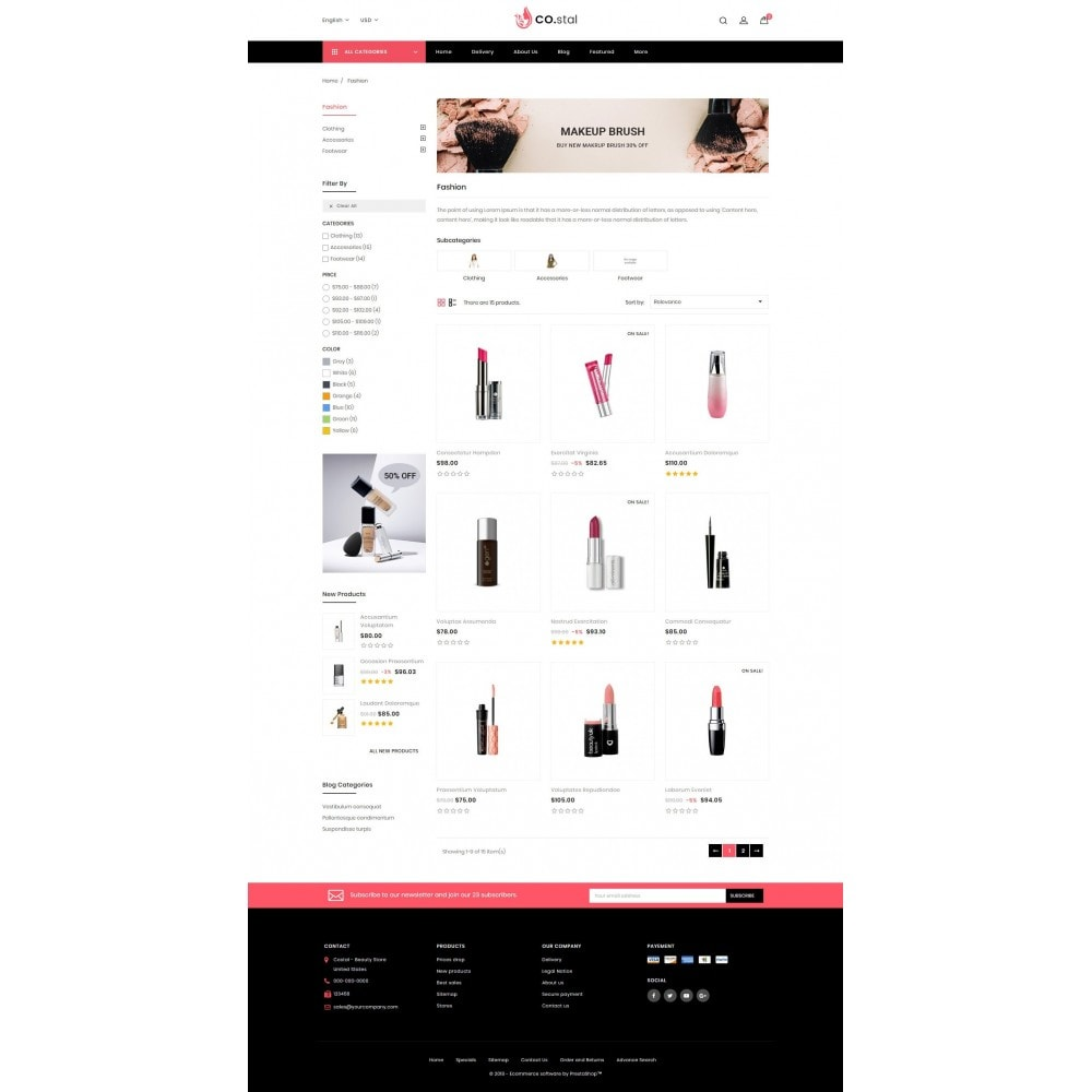 theme - Saúde & Beleza - Costal - Beauty Store - 3
