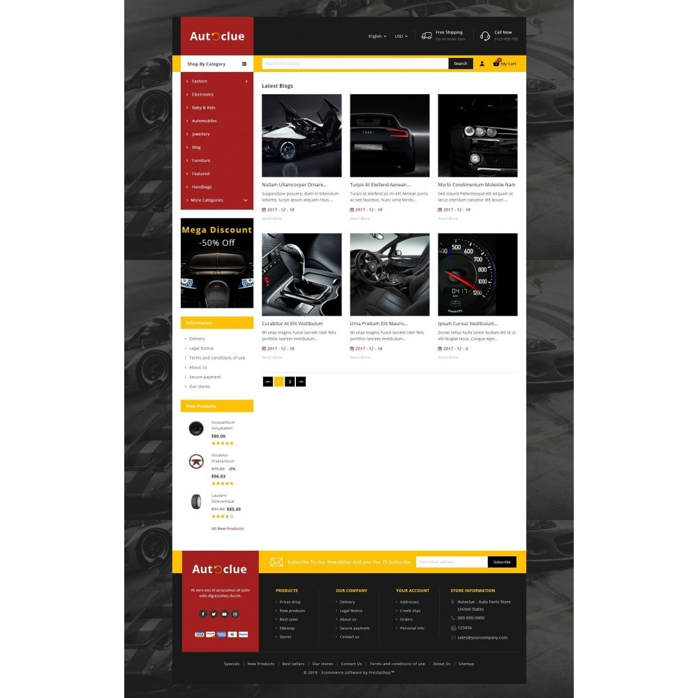 theme - Coches y Motos - Autoclue Store - 9
