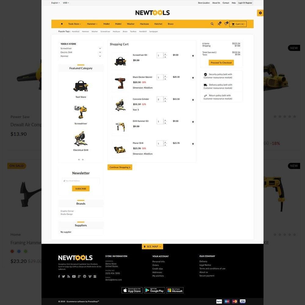 theme - Automotive & Cars - Tools –Tools Mega Shop - 4