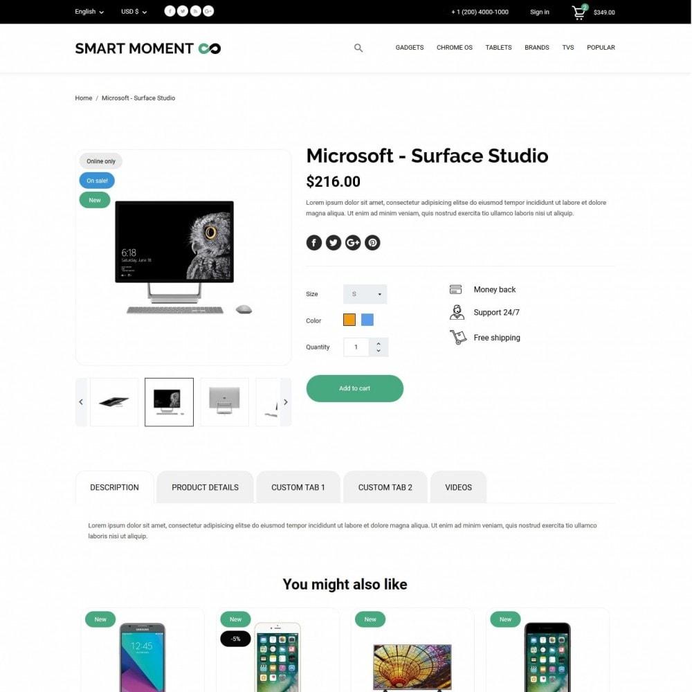 theme - Electronics & Computers - Smart Moment - High-tech Shop - 6