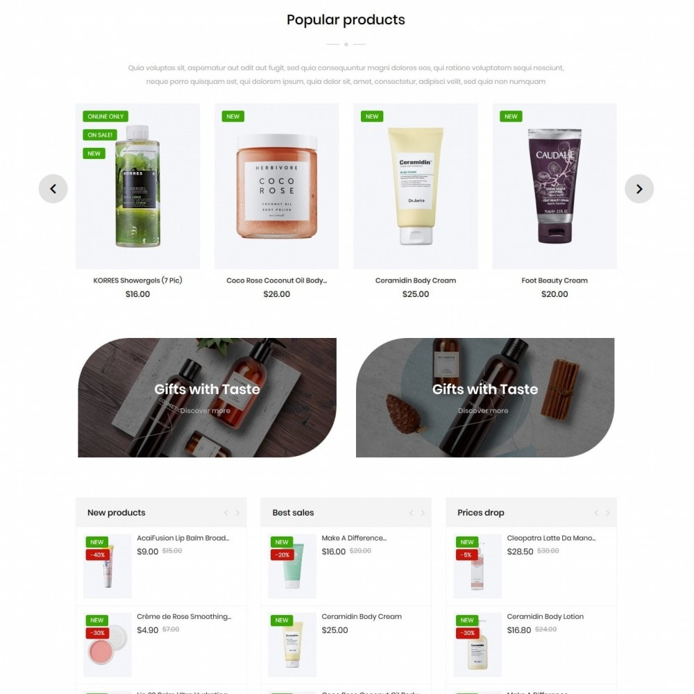 theme - Health & Beauty - Ensuus Cosmetics - 3