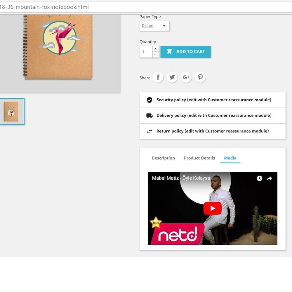 module - Wideo & Muzyka - Product Media - 1