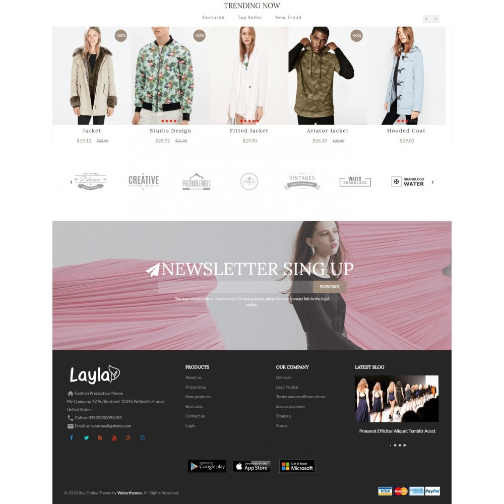 theme - Moda & Obuwie - Fashion Layla - 3