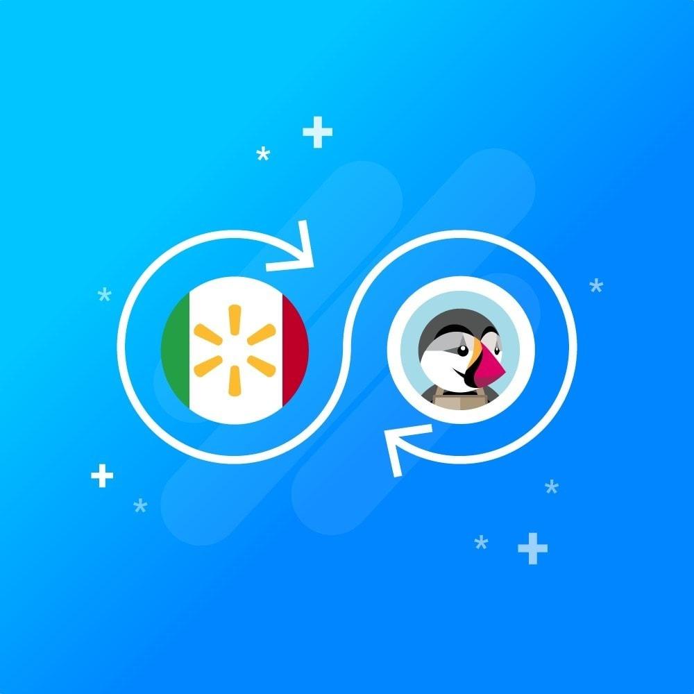 module - Connexion à un logiciel tiers (CRM, ERP...) - CedCommerce Walmart Mexico Integration - 1