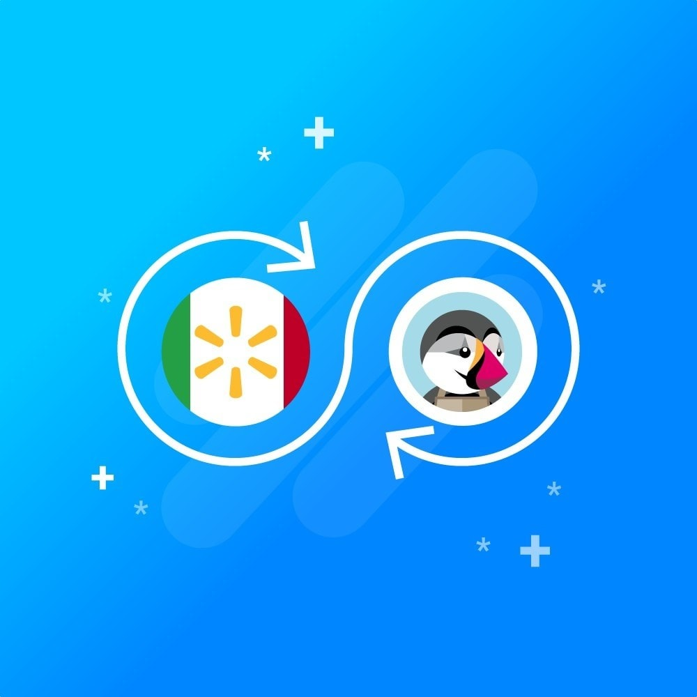 module - Third-party Data Integration (CRM, ERP...) - CedCommerce Walmart Mexico Integration - 1