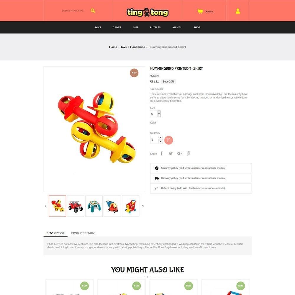 theme - Kids & Toys - Ting Tong - Toys Store - 5
