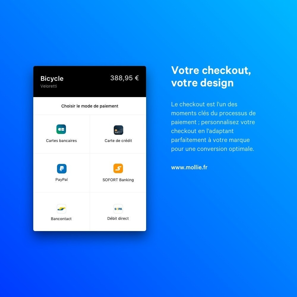 module - Paiement par Carte ou Wallet - Mollie Payments - 4