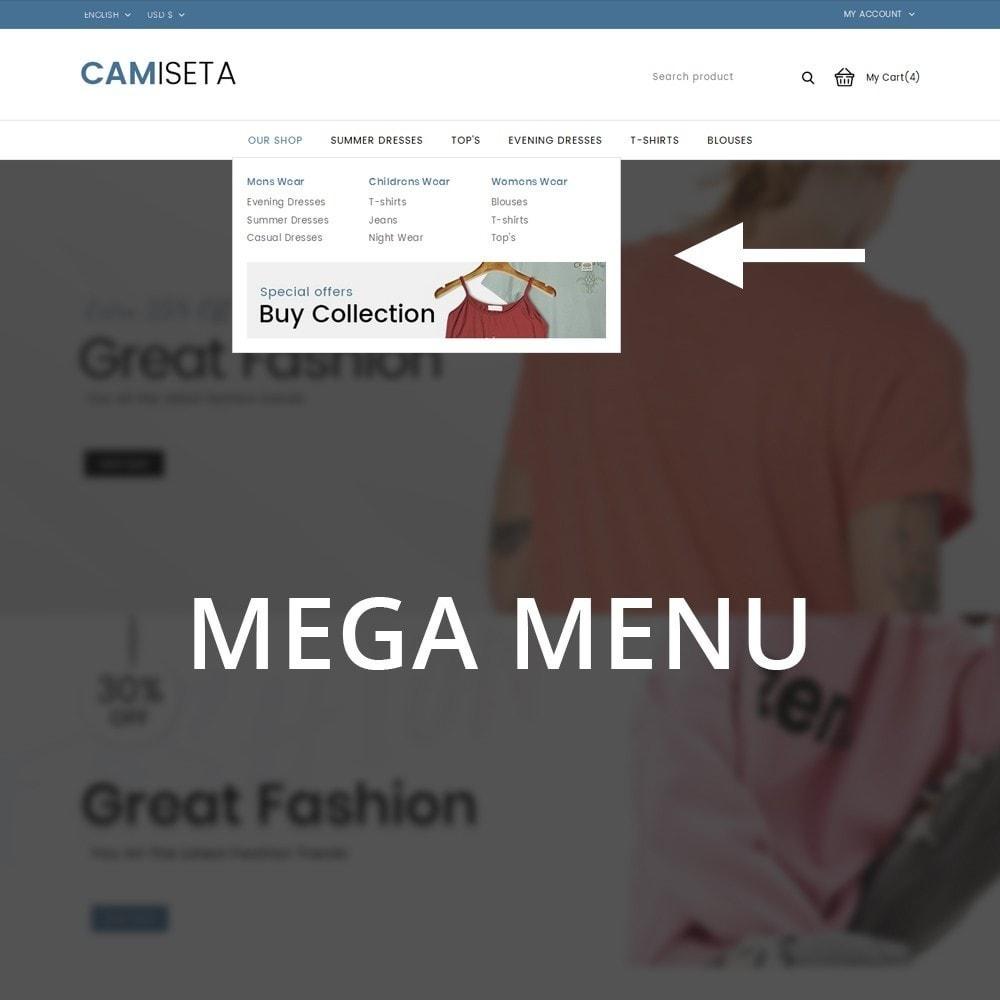 theme - Fashion & Shoes - Camiseta - The Fashion Store - 9