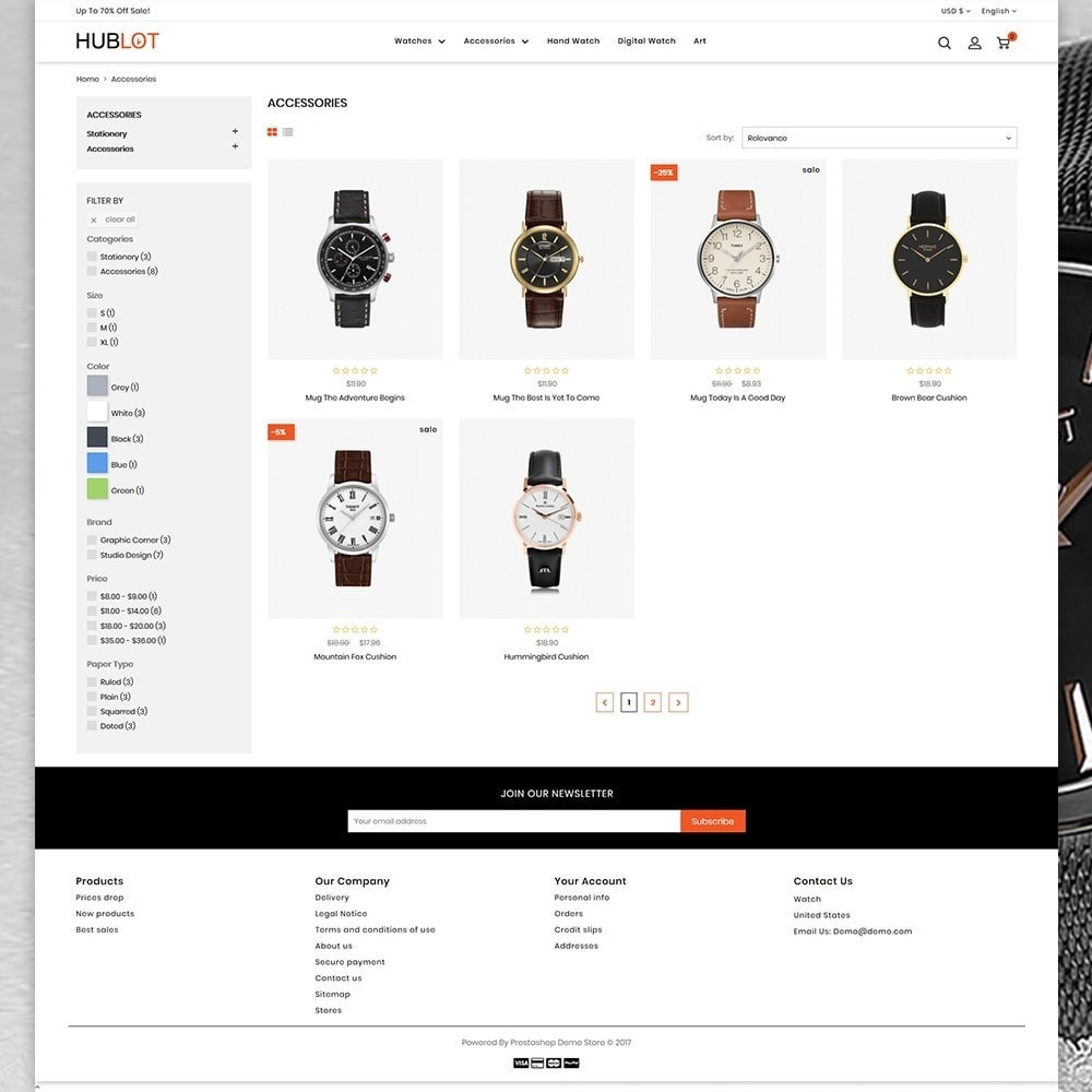 theme - Jewelry & Accessories - Hublot - Watch Store - 3