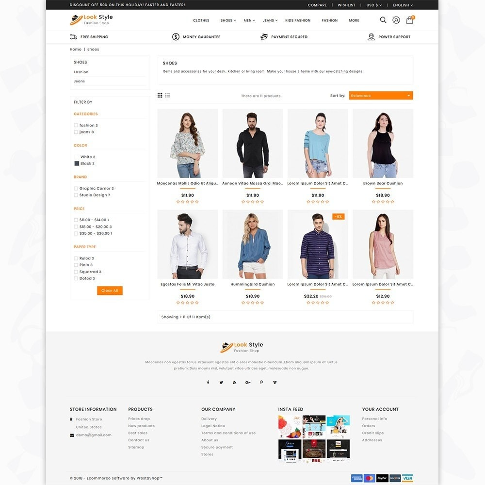 theme - Fashion & Shoes - LookStyle - The Fashion Store - 3