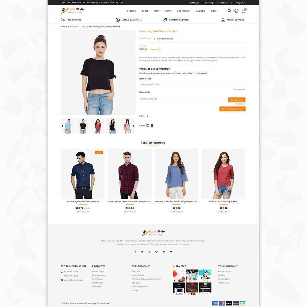 theme - Fashion & Shoes - LookStyle - The Fashion Store - 5