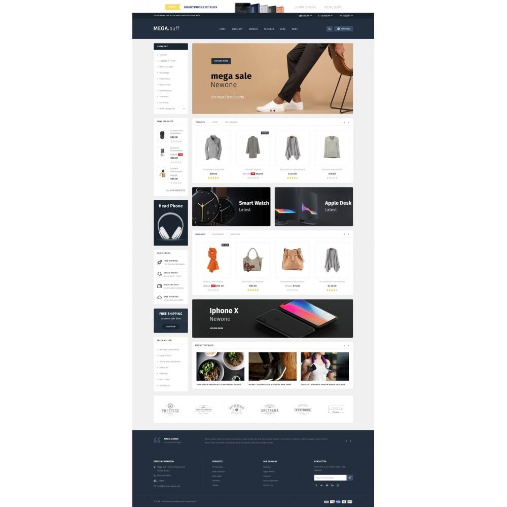 theme - Fashion & Shoes - Mega Buff - Multi purpose store - 2