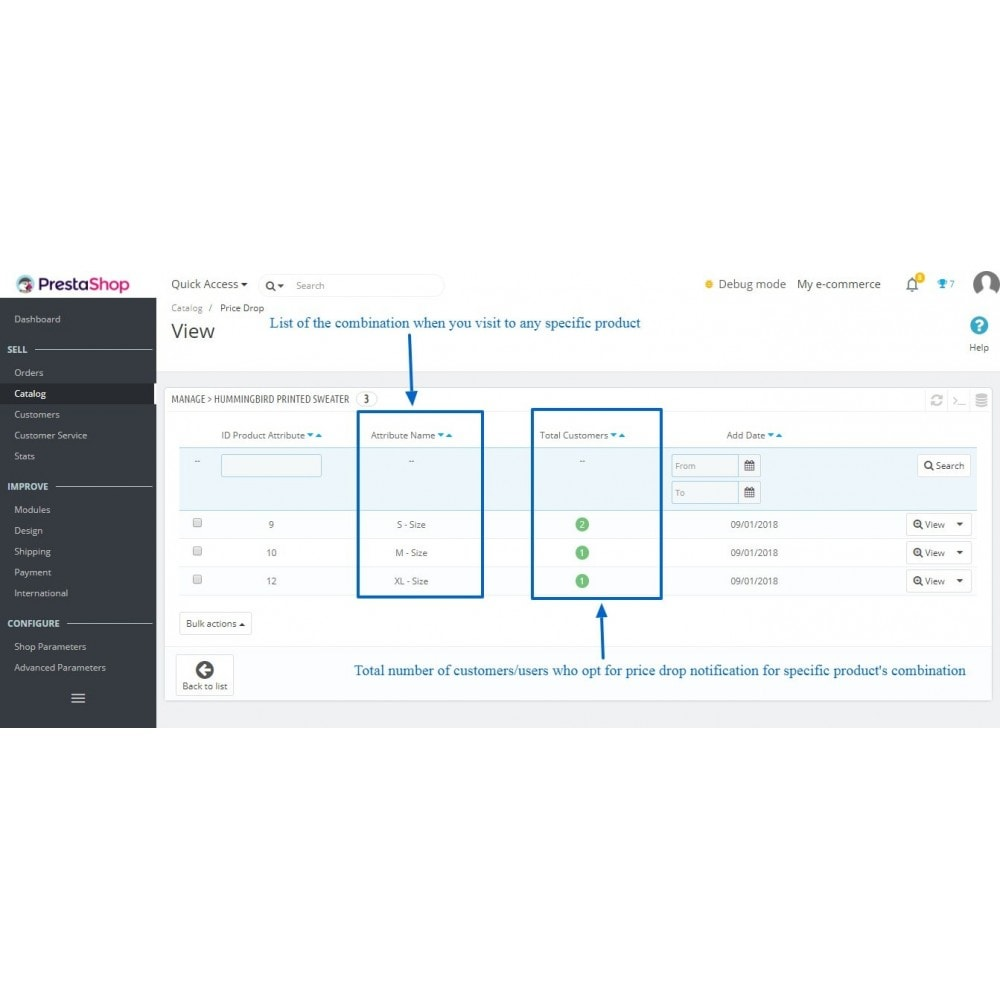 module - Notifications & Automatic Emails - Price Drop Alert/Notifier - 9