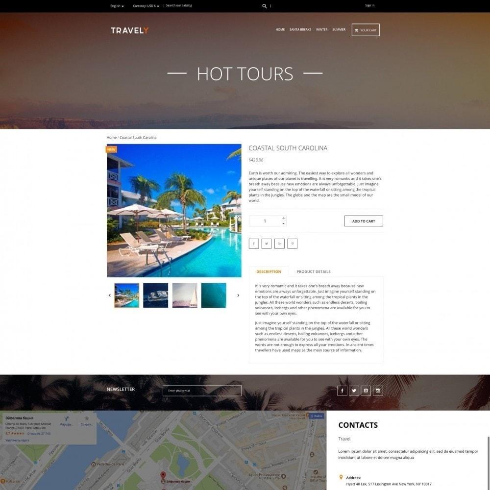 theme - Sport, Attività & Viaggi - Travely - Agenzia di viaggi - 4