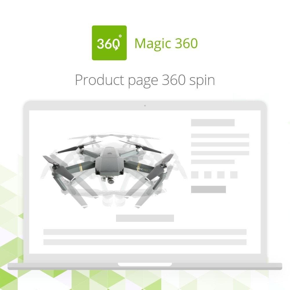 module - Visualizzazione Prodotti - Magic 360 spin - 2