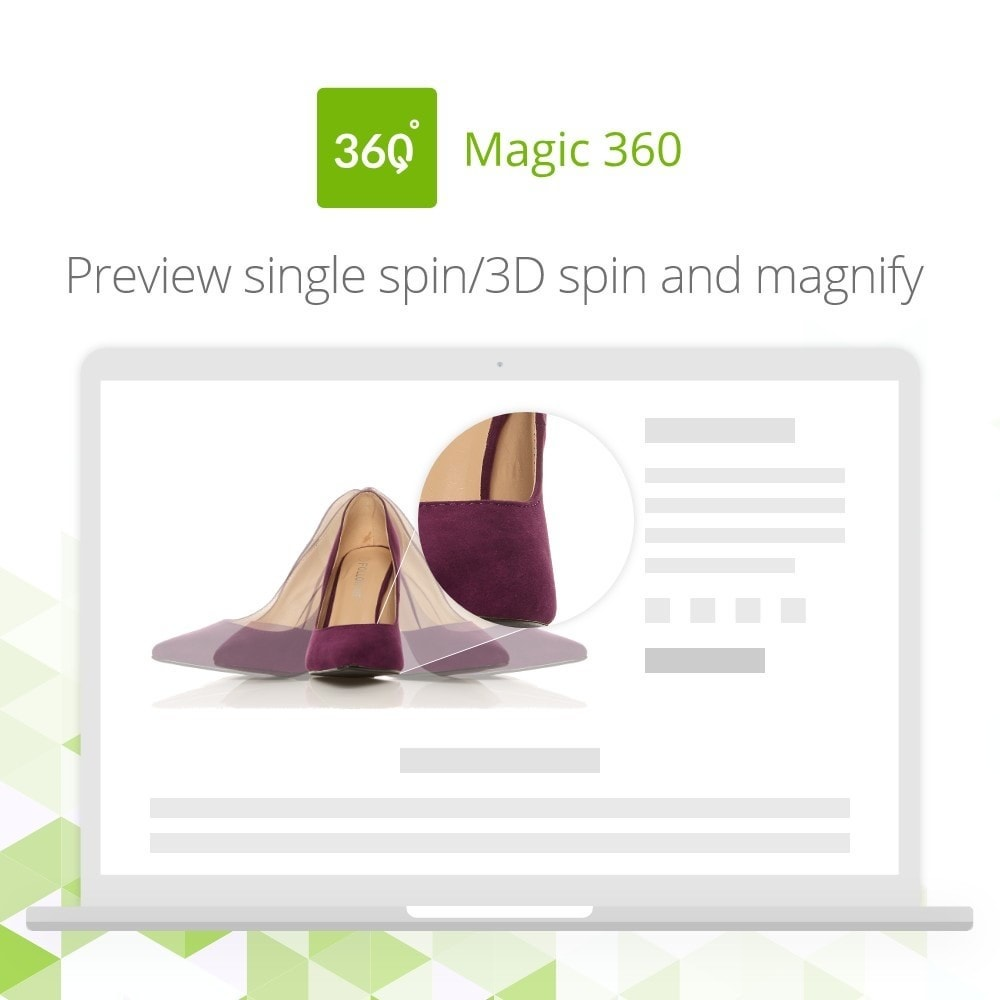 module - Visualizzazione Prodotti - Magic 360 spin - 3