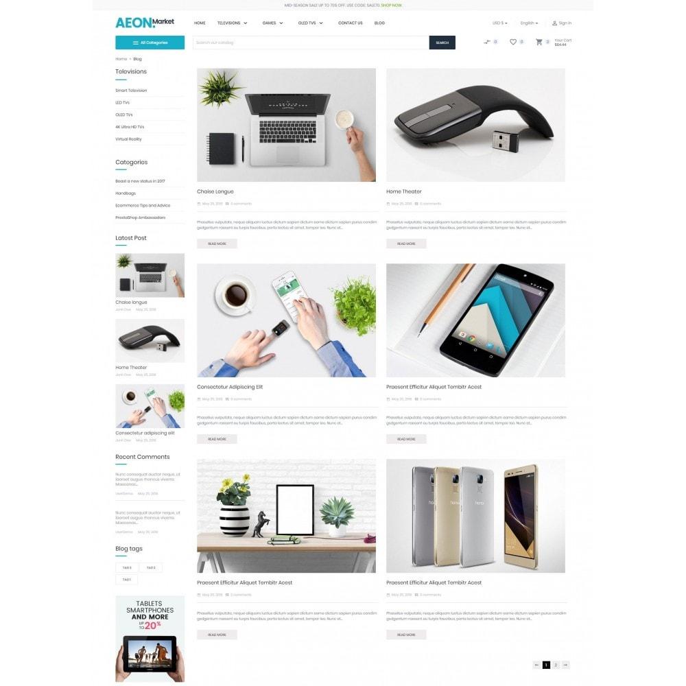 theme - Eletrônicos & High Tech - AEON Electronic Store - 7