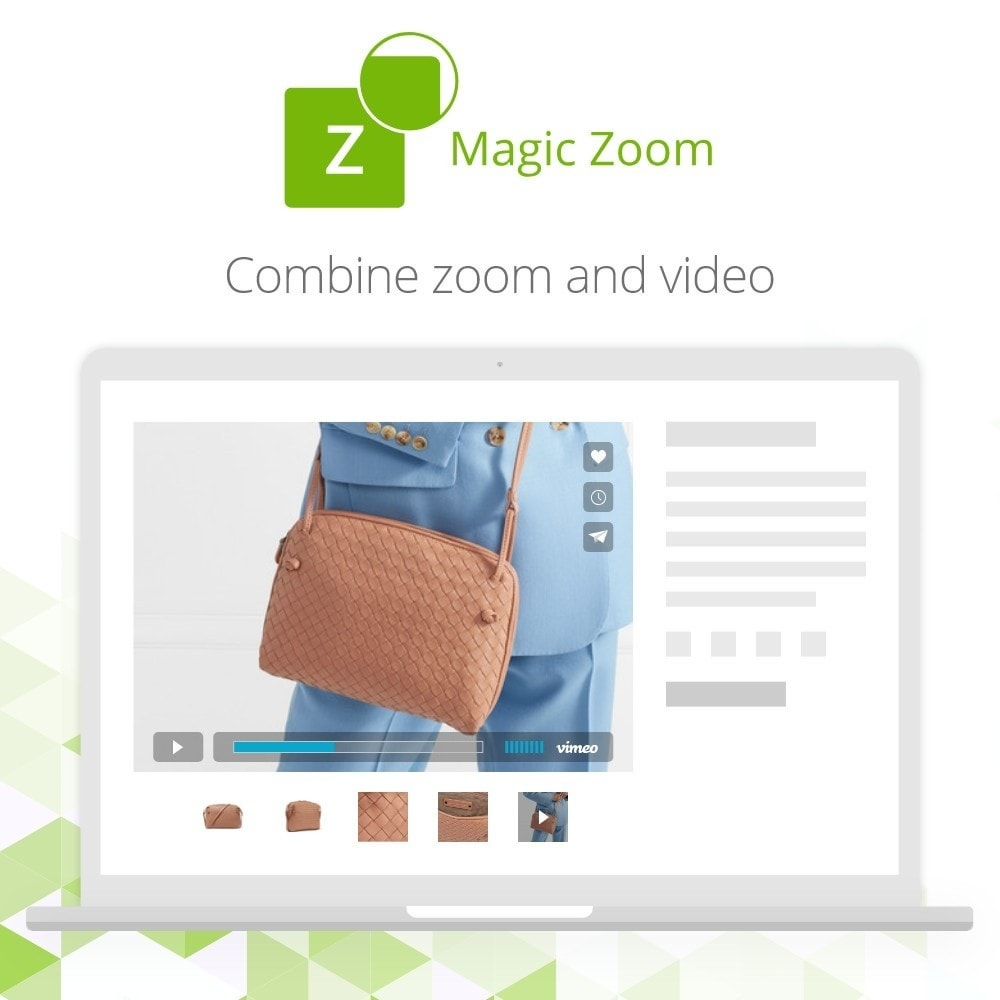 module - Visual dos produtos - Magic Zoom - 3