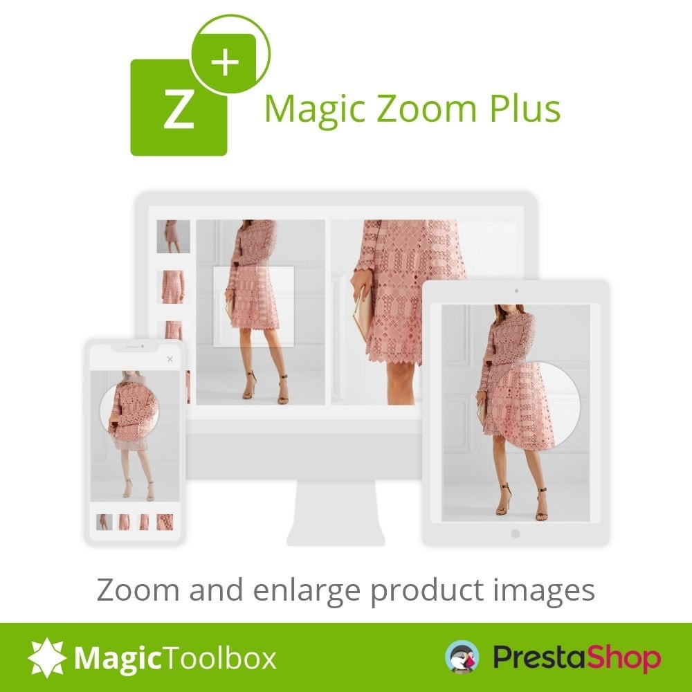module - Visual dos produtos - Magic Zoom Plus - 1