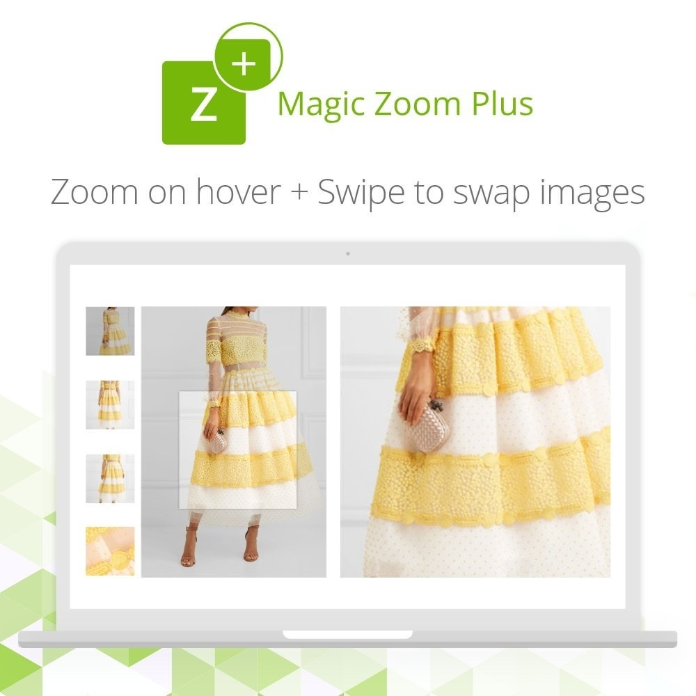 module - Visual dos produtos - Magic Zoom Plus - 2
