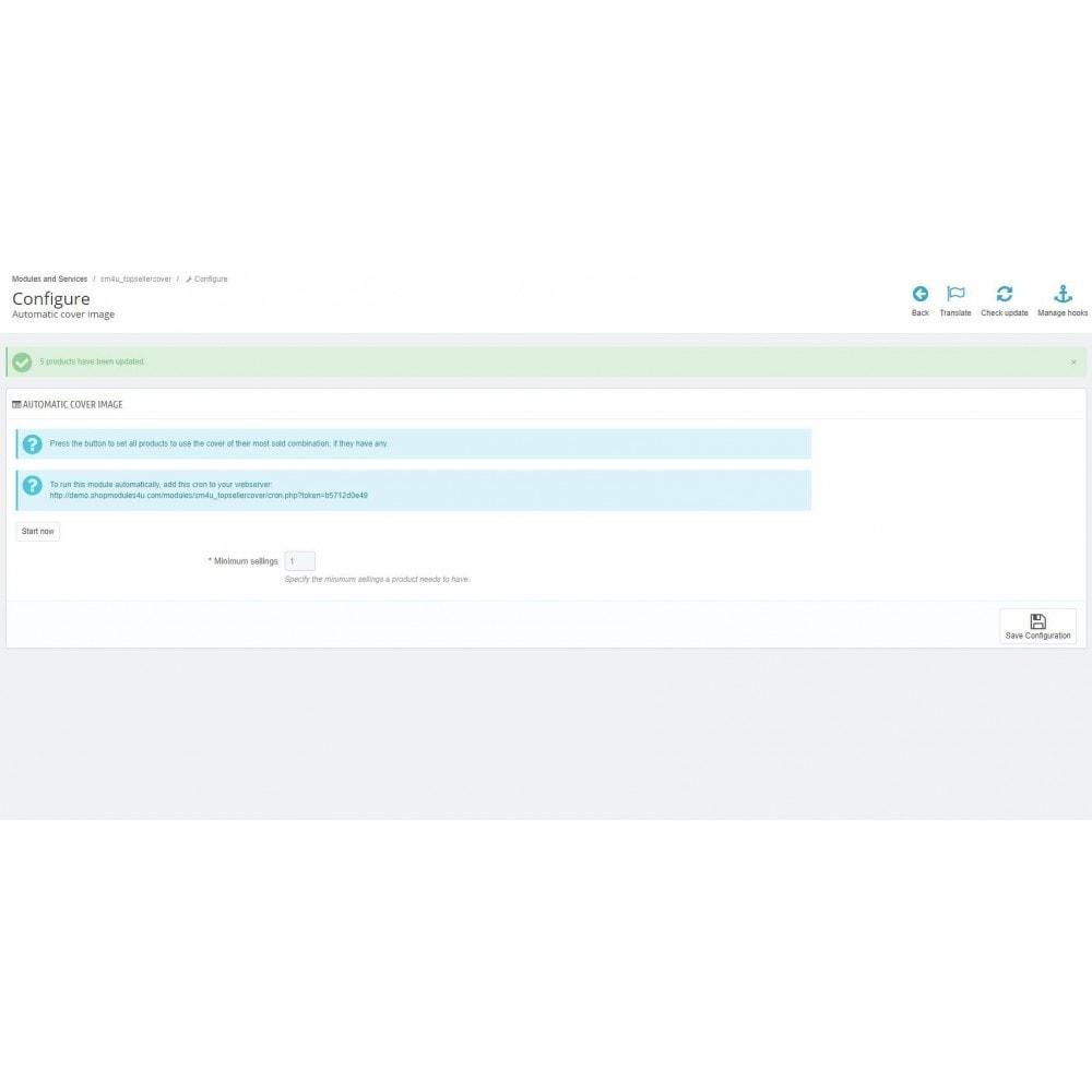module - Information supplémentaire & Onglet produit - Automatic Cover Image - 3