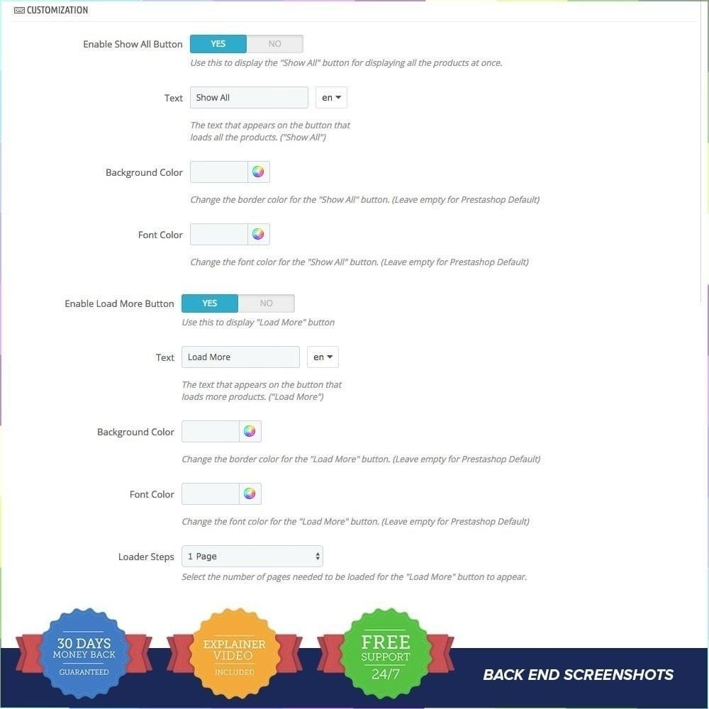module - Tool di navigazione - Scorrimento Infinito PRO - 7