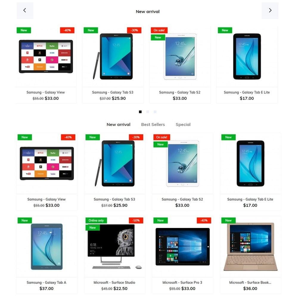 theme - Электроника и компьютеры - Electros - High-tech Shop - 3