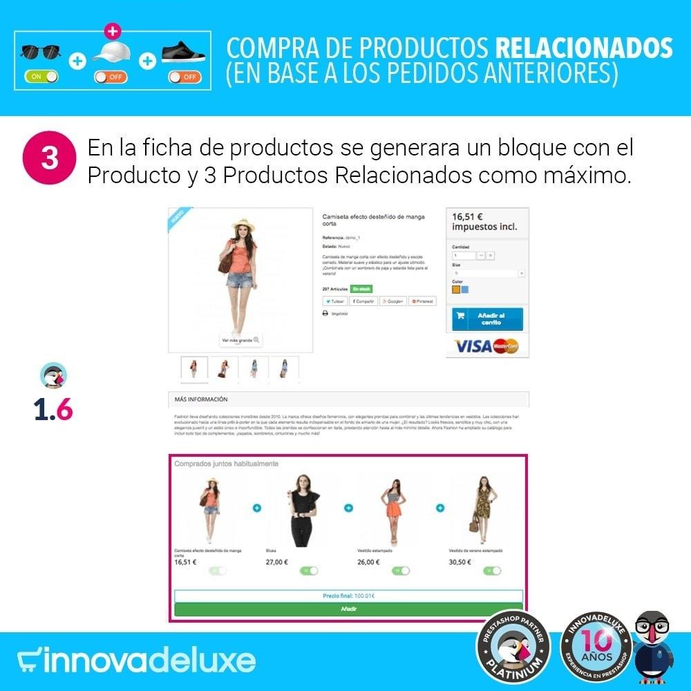 module - Ventas cruzadas y Packs de productos - Compra productos relacionados según pedidos anteriores - 7