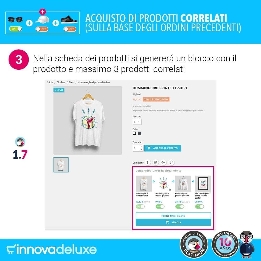 module - Cross-selling & Product Bundle - Prodotti correlati sulla base degli ordini anteriori - 6