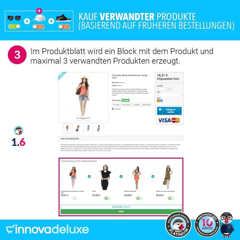 module - Cross-Selling & Produktbundles - Kauf verwandter Produkte aufgrund früherer Bestellungen - 7