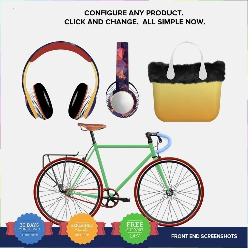 module - Déclinaisons & Personnalisation de produits - Product composer PRO - 2
