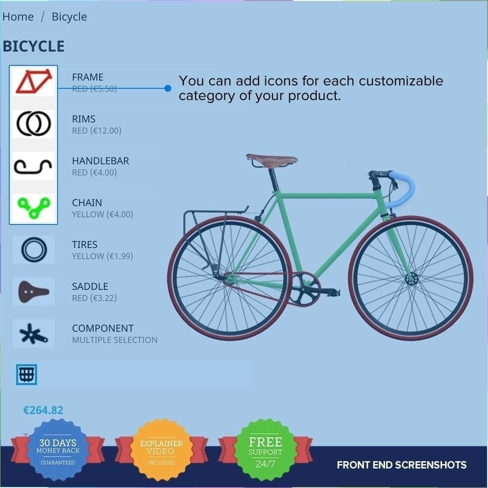 module - Déclinaisons & Personnalisation de produits - Product composer PRO - 8
