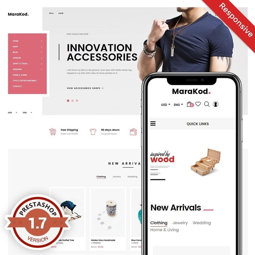 theme - Mode & Chaussures - Marakod - Minimal Handmade Theme - 1