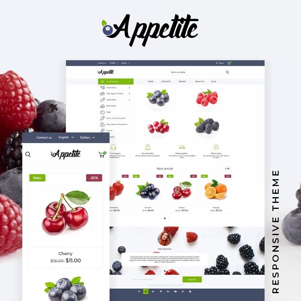 theme - Food & Restaurant - Appetite - 1
