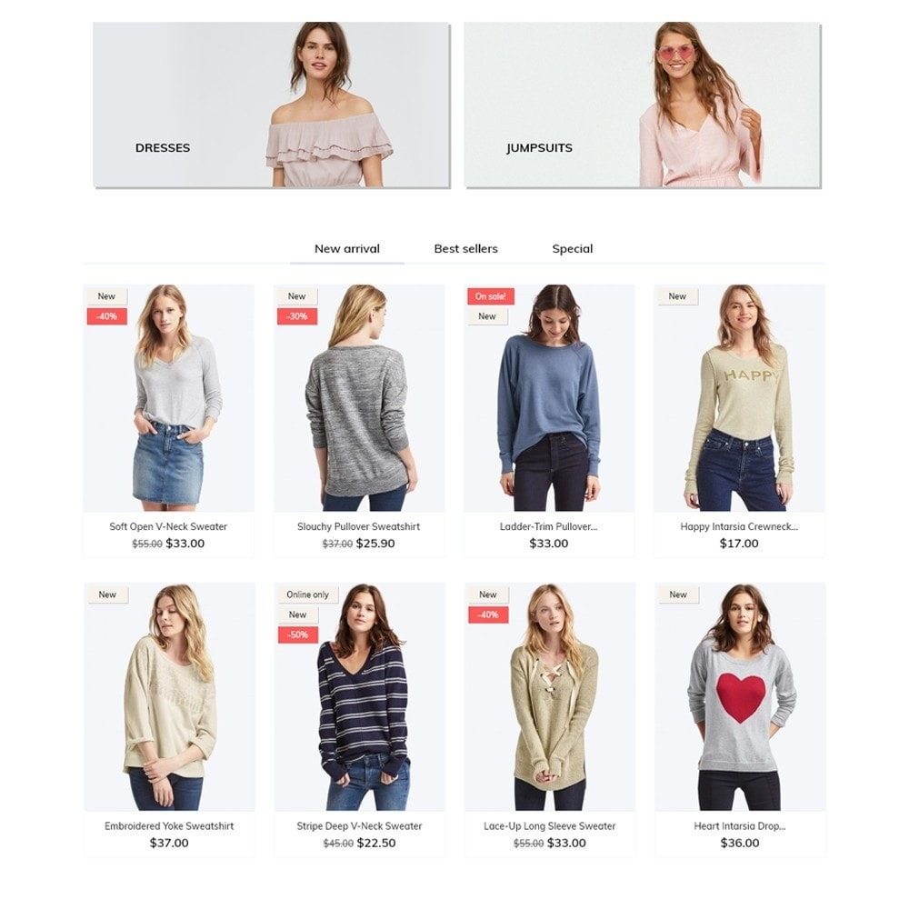 theme - Fashion & Shoes - Eleonora Fashion Store - 3