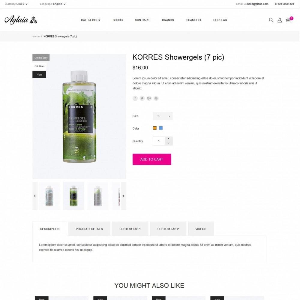 theme - Health & Beauty - Aglaia Cosmetics - 6