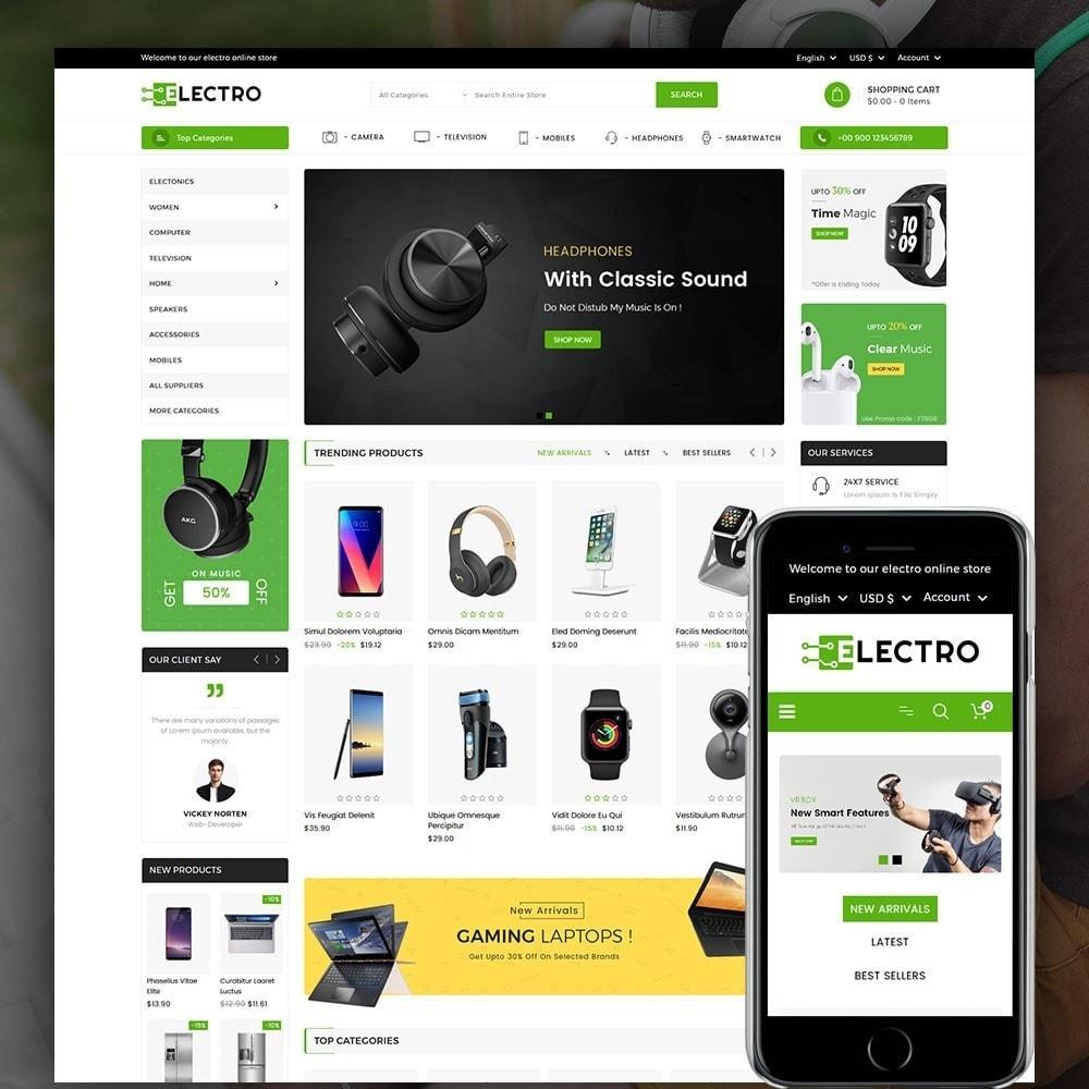 theme - Electronics & Computers - Electro Electronics Store - 1