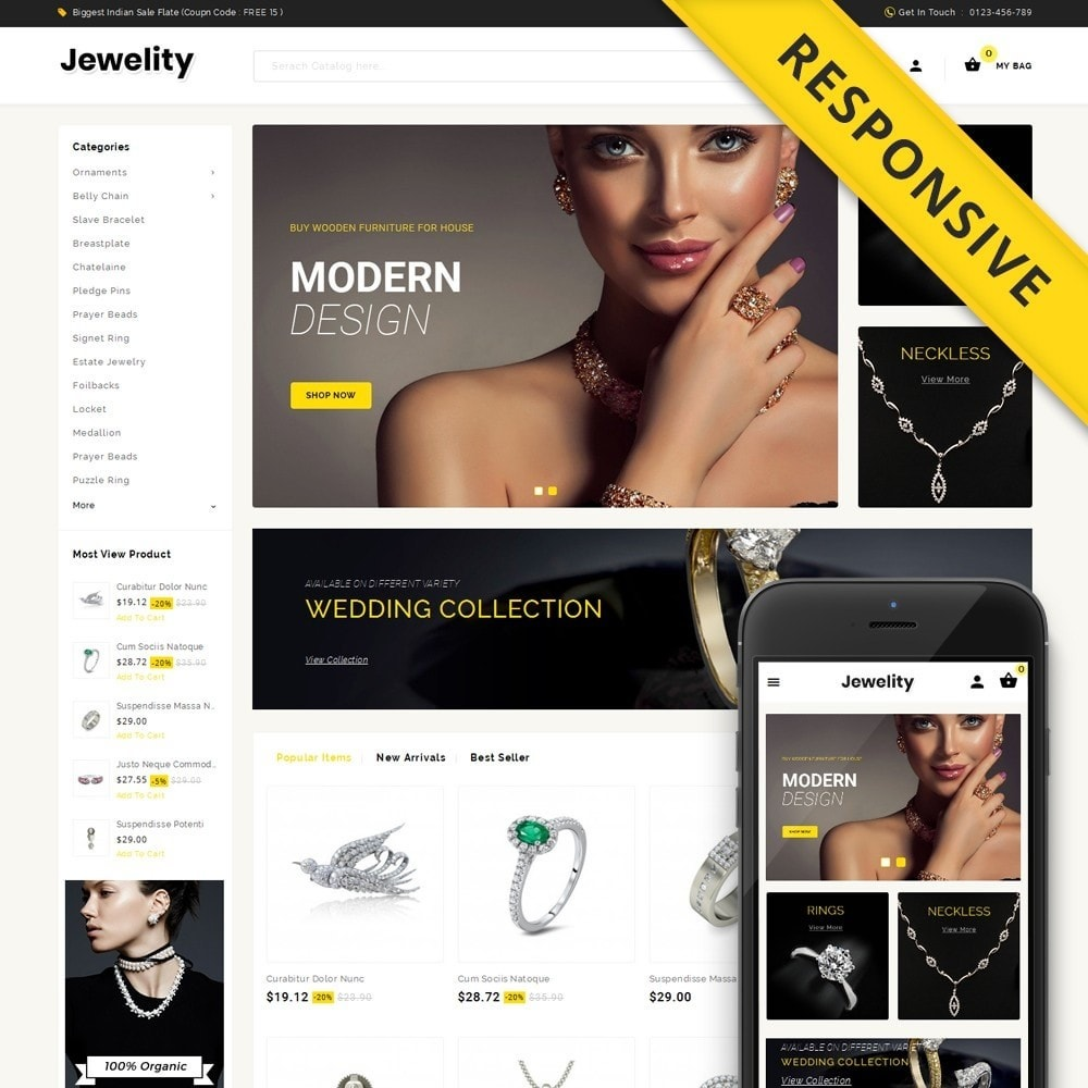 theme - Jewelry & Accessories - Jewelity - Jewelry Store - 1