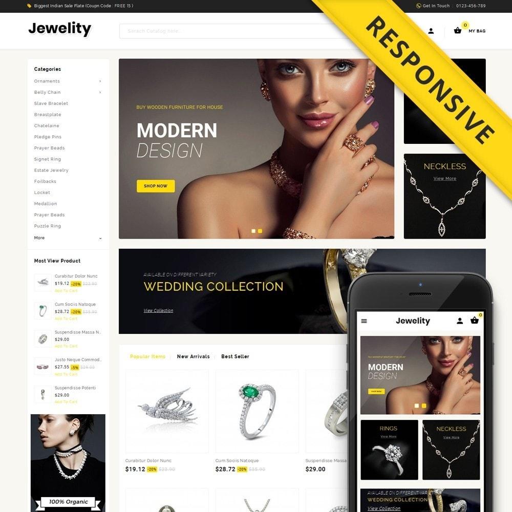 theme - Ювелирные изделия и Аксессуары - Jewelity - Jewelry Store - 1
