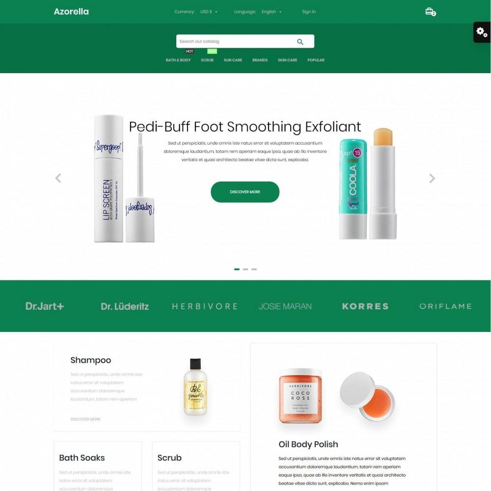 theme - Health & Beauty - Azorella Cosmetics - 2
