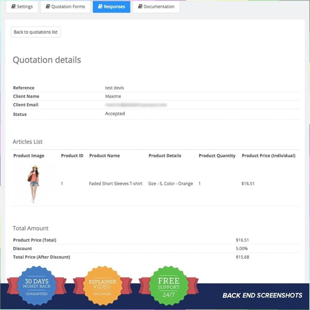 module - Offertes - Online Quotation - 8