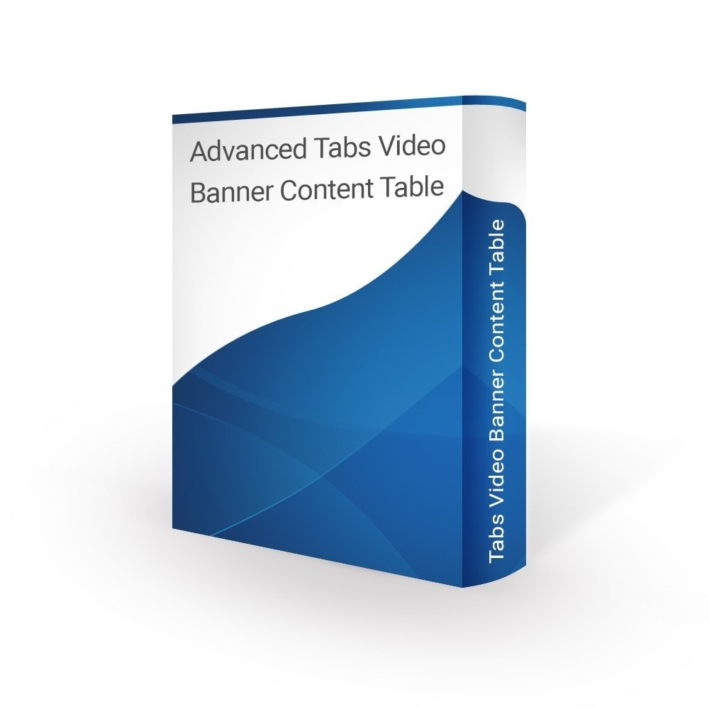 module - Blocks, Tabs & Banners - Advanced Tabs Video Banner Content Table - 1