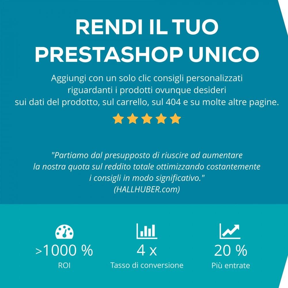 module - Remarketing & Carrelli abbandonati - Recolize - La personalizzazione Plug & Play - 1