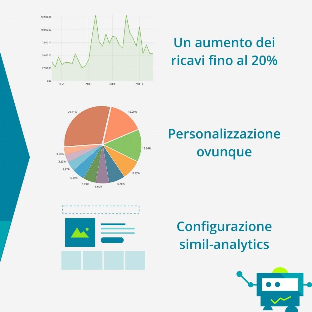 module - Remarketing & Carrelli abbandonati - Recolize - La personalizzazione Plug & Play - 2