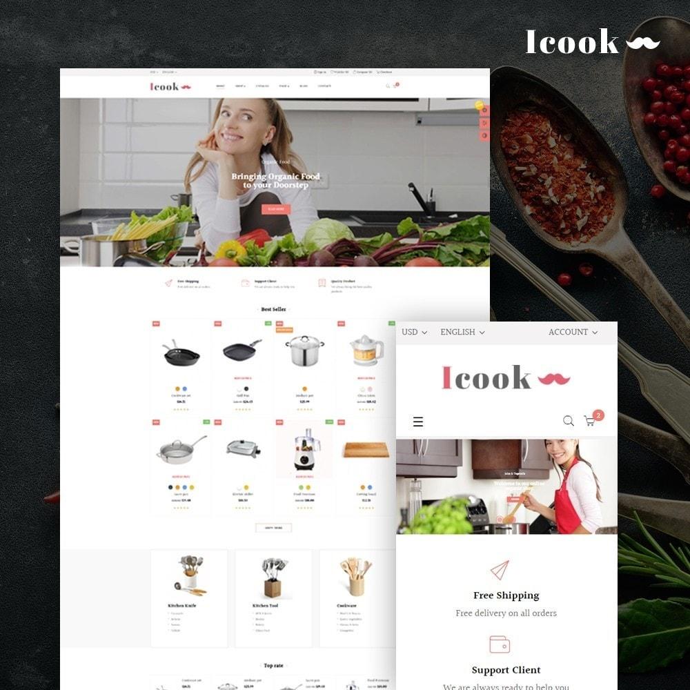 theme - Продовольствие и рестораны - Leo Icook - 1