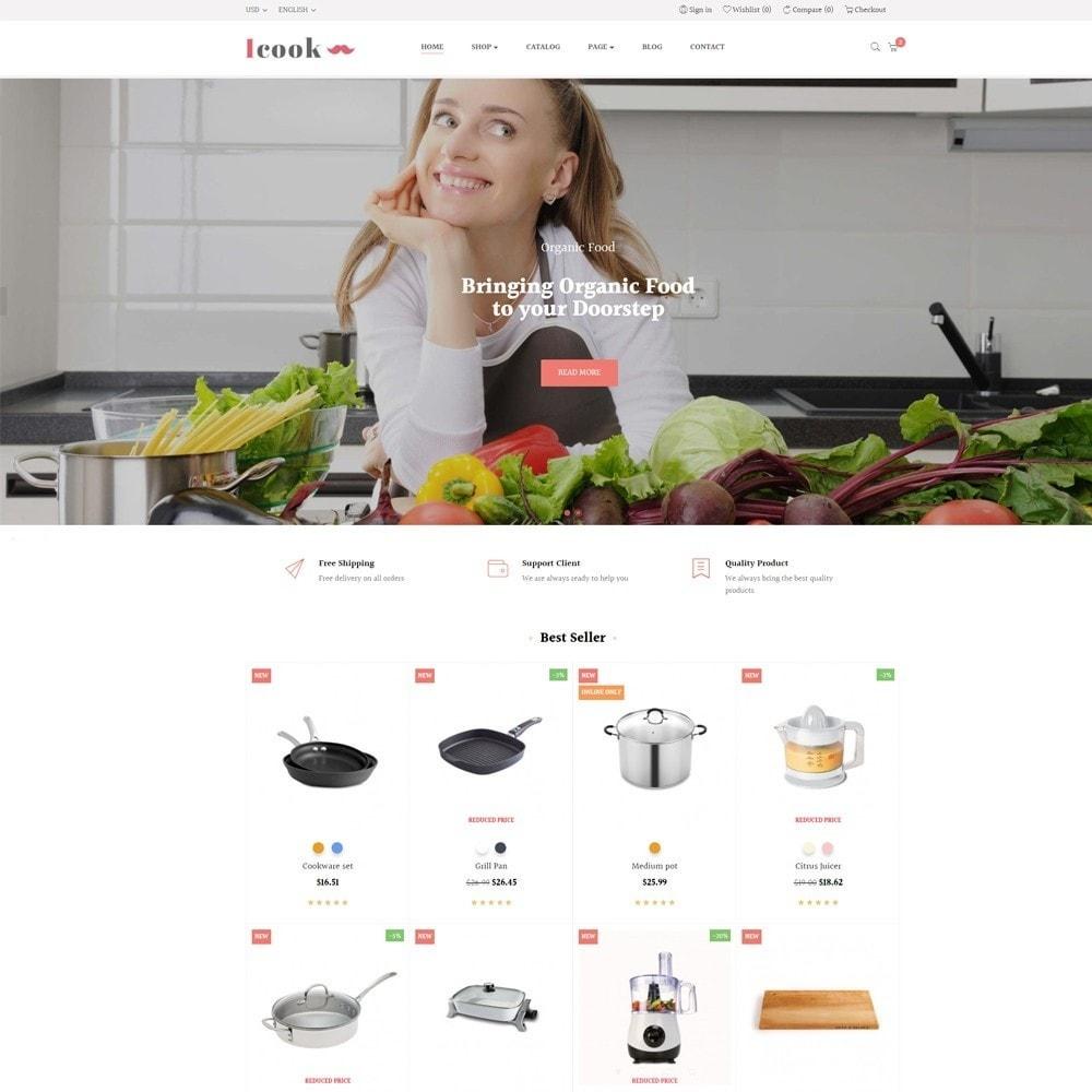 theme - Продовольствие и рестораны - Leo Icook - 2