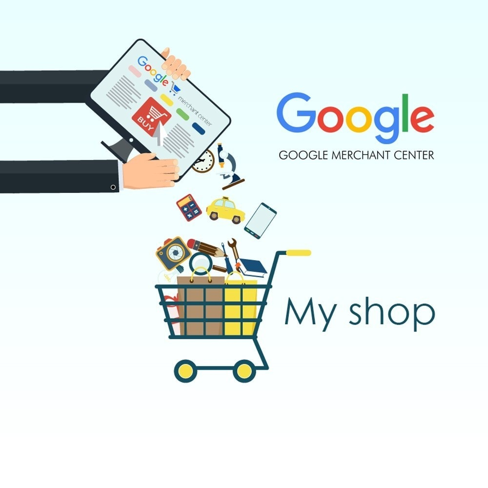 module - Comparadores de preços - Export products to Google Merchants ( Google Shopping) - 1