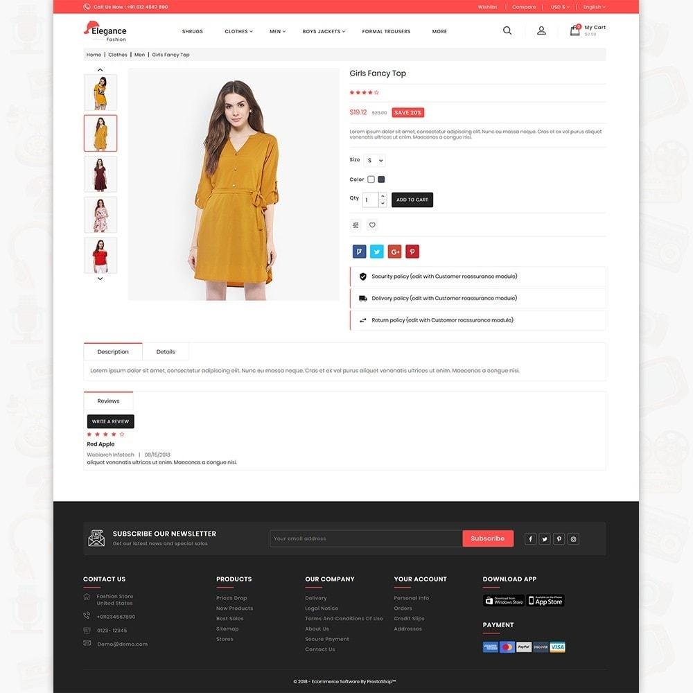 theme - Fashion & Shoes - Elegance The Fashion Store - 5