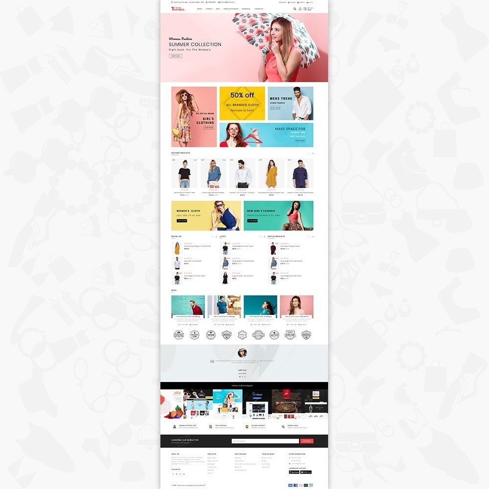 theme - Electronics & Computers - Trenz Fashion- The Fashion Shop - 2