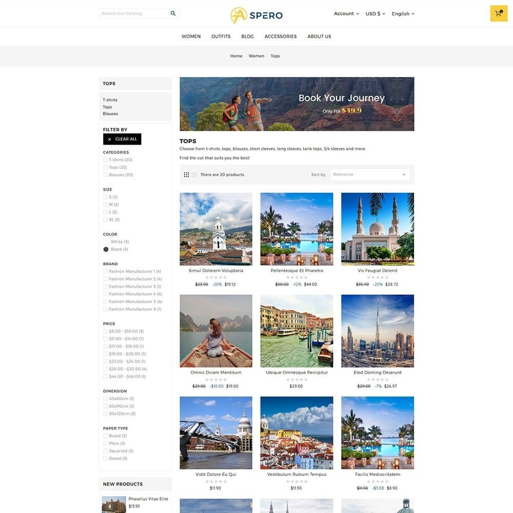theme - Sports, Activities & Travel - Aspero Travel Store - 4